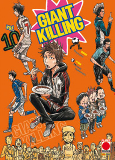 Giant Killing - N° 10 - Giant Killing - Manga Giants Planet Manga