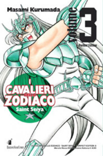 Cavalieri Zodiaco - N° 3 - Saint Seiya Perfect Edition (M22) - Star Comics