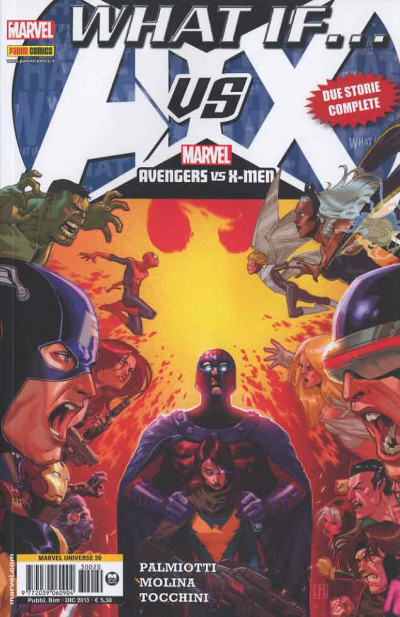 Marvel Universe - N° 20 - What If? - Avx - Marvel Italia