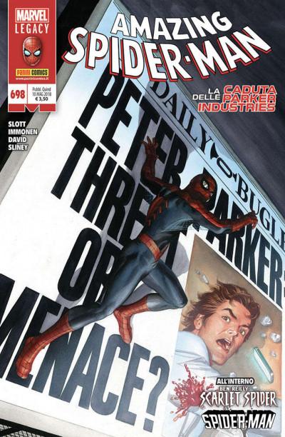 Spider-Man - N° 698 - Marvel Legacy Amazing Spider-Man - Marvel Legacy Amazing Spider-Man Marvel Italia