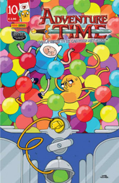 Adventure Time - N° 10 - Panini Time 10 - Panini Comics