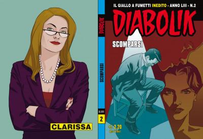 Diabolik Anno 53 - N° 2 - Scomparsi - Diabolik 2014 Astorina Srl