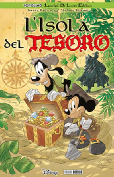 Topolino Limited De Luxe Edition - N° 6 - L'Isola Del Tesoro - Panini Disney