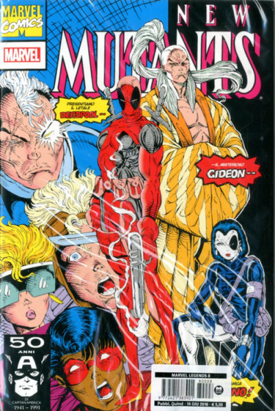 Marvel Legends - N° 8 - New Mutants 98 - Marvel Italia