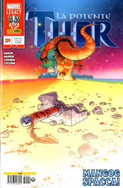 Thor - N° 229 - La Potente Thor - Marvel Italia