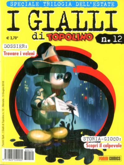 Gialli Di Topolino - N° 12 - I Gialli Di Topolino - Panini Disney