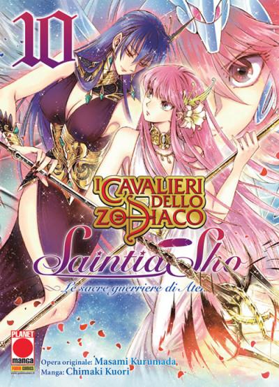 Cavalieri Zodiaco Saintia Sho - N° 10 - Le Sacre Guerriere Di Atena - Manga Legend Planet Manga