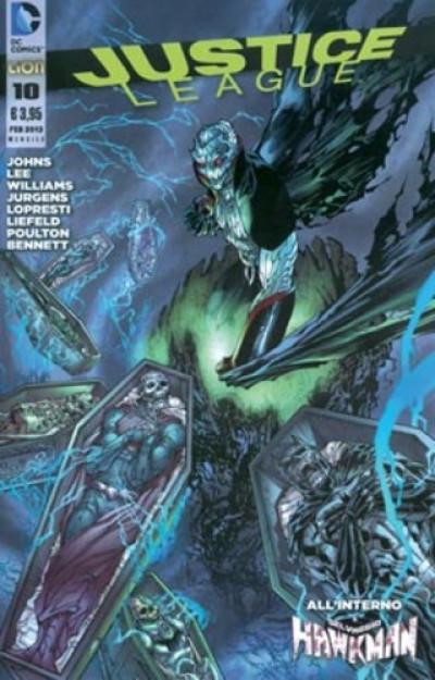 Justice League - N° 10 - Justice League - Rw Lion