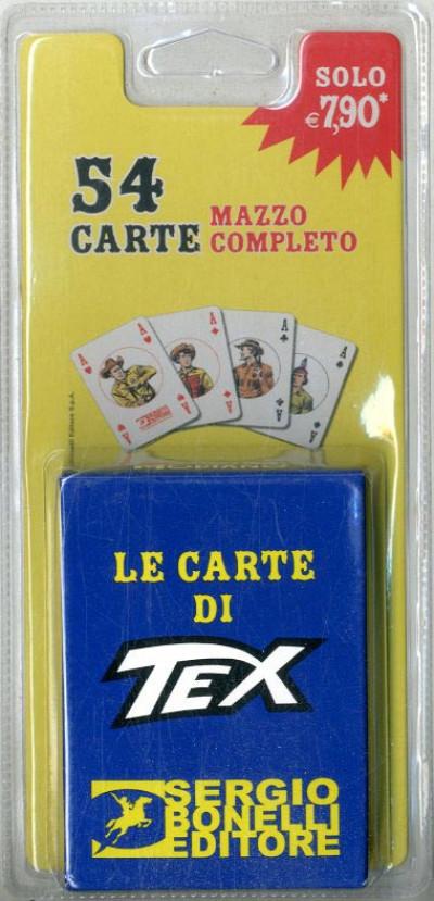 Tex Mazzi Di Carte - N° 1 - Tex Mazzo Dorso Rosso - Astuccio Blu - Bonelli Editore