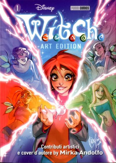 W.I.T.C.H. Art Edition - N° 1 - W.I.T.C.H. - Art Edition - Panini Disney