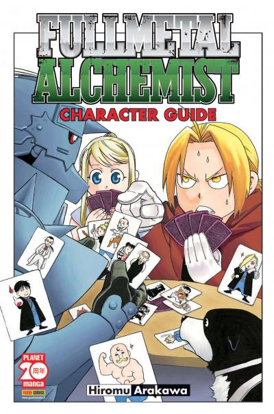 Fullmetal Alchemist - Character Guide - Manga Life Planet Manga