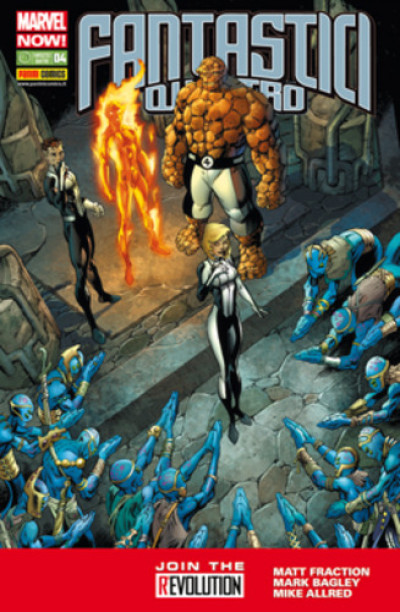 Fantastici Quattro Marvel Now! - N° 4 - Fantastici Quattro - Fantastici Quattro Marvel Italia