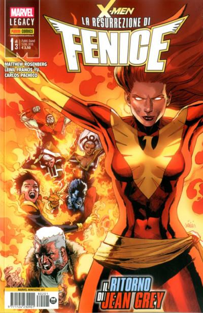 Marvel Miniserie - N° 201 - X-Men: La Resurrezione Di Fenice 1 - X-Men: La Resurrezione Di Fenice Marvel Italia