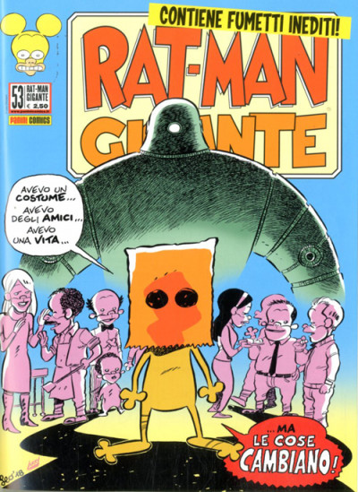 Rat-Man Gigante - N° 53 - Rat-Man Gigante - Panini Comics