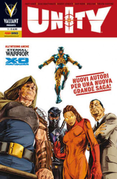 Valiant Presenta - N° 1 - Unity - Panini Comics