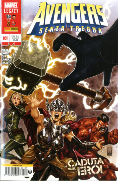 Avengers - N° 101 - Avengers - Marvel Italia