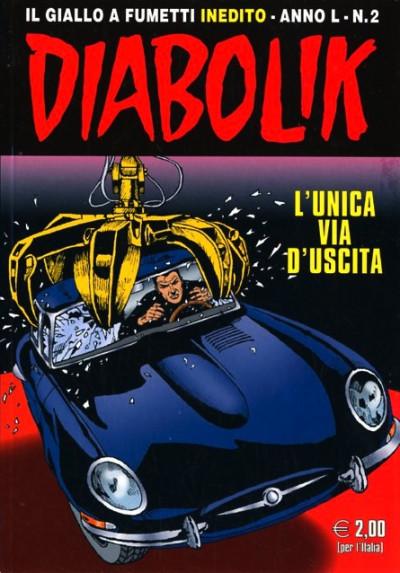 Diabolik Anno 50 - N° 2 - L'Unica Via D'Uscita - Diabolik 2011 Astorina Srl