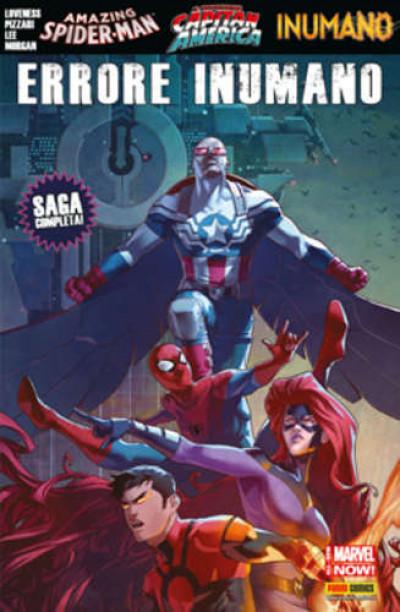 Marvel Mega - N° 96 - Capitan America, Spider-Man & Inumani: Errore... - Marvel Italia