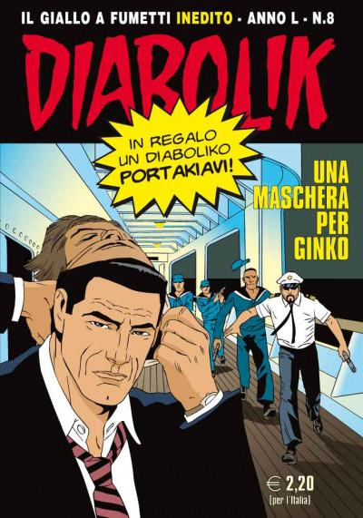 Diabolik Anno 50  - N° 8 - Una Maschera Per Ginko - Diabolik 2011