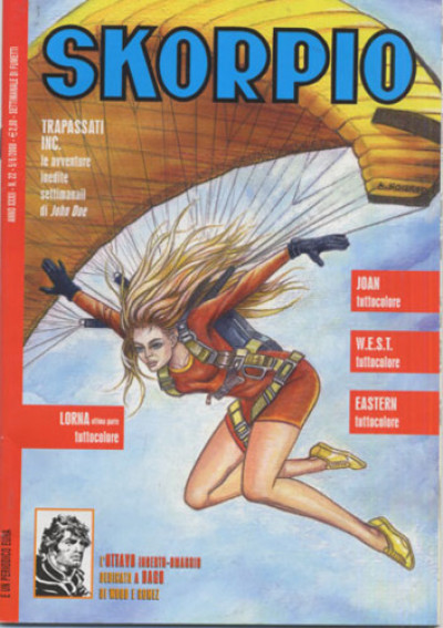 Skorpio Anno 32 - N° 22 - Skorpio 2008 22 - Skorpio Editoriale Aurea