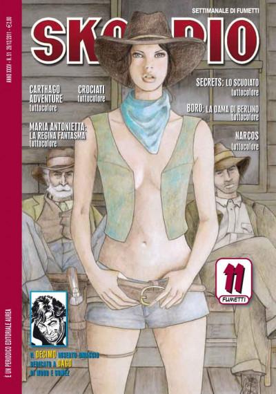 Skorpio Anno 35 - N° 51 - Skorpio 2011 51 - Skorpio Editoriale Aurea