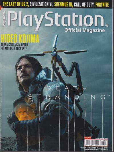 Play Station official magazine - n. 51 - bimestrale - dicembre 2019 -  gennaio 2020 - EDICOLA SHOP