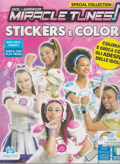 Miracle Tunes Stickers E Colori N 17 Luglio Agosto 2020 Bimestrale Edicola Shop