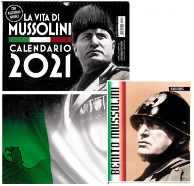 Calendario 2021 La vita di Mussolini   cm. 29 x 42c/spirale +