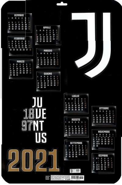 Calendario Juventus 2021 Da Parete Calendario 3D 2021 Juventus   cm. 37 x 55   da parete EDICOLA SHOP