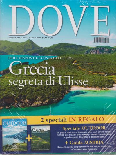 Acqua E Aria Rivista.Dove Speciale Outdoor Guida Austria N 5 Mensile Maggio 2019 3 Riviste Edicola Shop