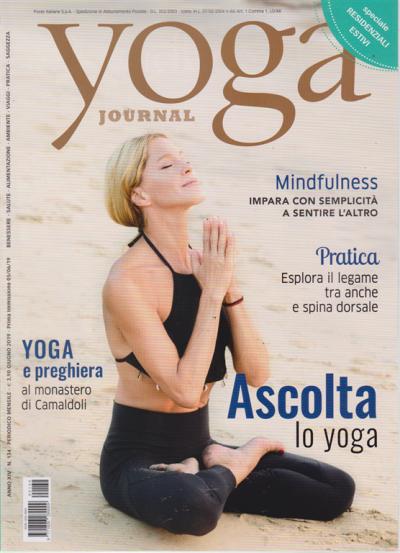 Yoga Journal N 134 Mensile Giugno 2019 Edicola Shop